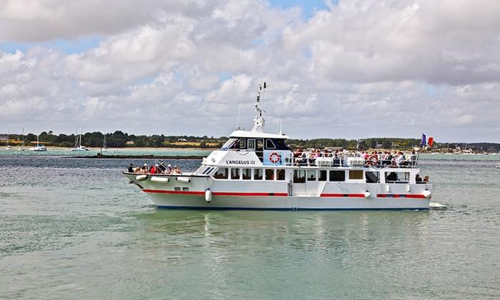 A la découverte du Golfe du Morbihan avec 3h30 de croisière pour 2 à 6 personnes dès 25 € à bord des Vedettes l'Angélus