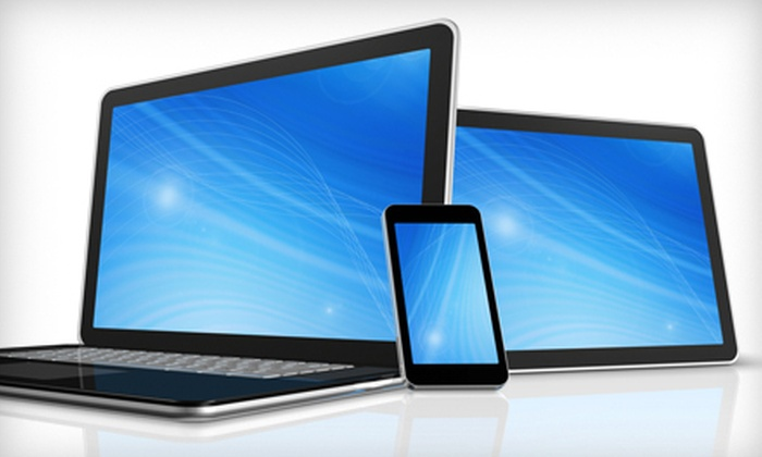 The Laptop Guy - Multiple Locations: Phone and Laptop Repair at The Laptop Guy (Up to 60% Off). Four Options Available.