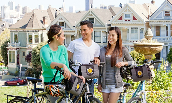Bay City Bike - Golden Gate Park: Hybrid Bike Rental for One, Two, or Four from Bay City Bike (Up to 46% Off)