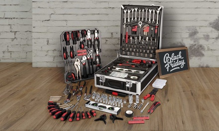 Valise à outils Aquila à roulette 186 pièces