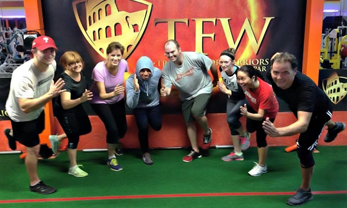 The Gym - Elkins Park : Up to 79% Off 20 Boot Camp Sessions or Athletic Training Sessions at The Gym