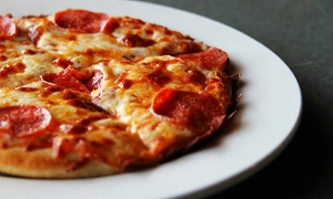Pizza Meal Package For Up To Three, Five, Or Seven People At Sutera