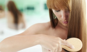 Keith's Haircenter: Evaluation and One or Three Months of Laser Hair-Rejuvenation Therapy at Keith's Haircenter (Up to 72% Off)