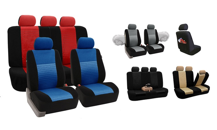 Deluxe 3D Air Mesh Fabric Seat Covers: Deluxe 3D Air Mesh Fabric Seat Covers. Multiple Colors. Free Returns.