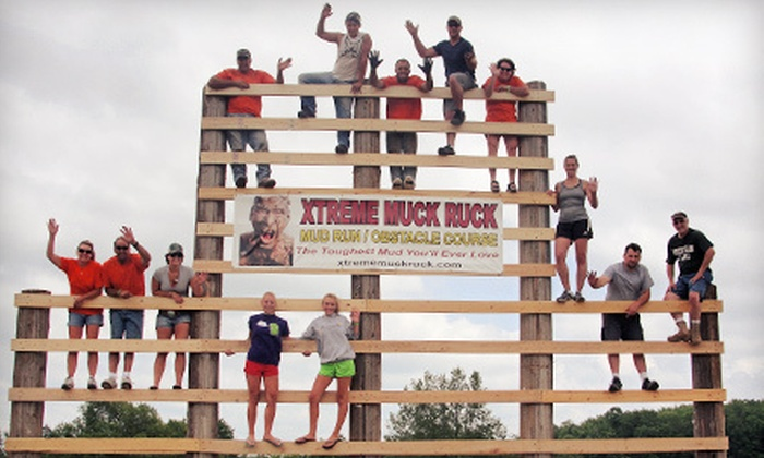 Xtreme Muck Ruck - Cleon: $42 for Xtreme Muck Ruck Mud-Race Registration, T-shirt, and a Drink on September 8 in Copemish ($85 Value)