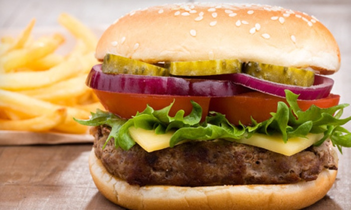 The Concord Grill - Concord: Burgers and American Food at The Concord Grill (Half Off). Four Options Available.