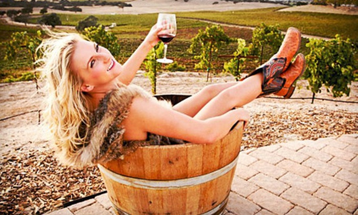 Vino + Therapy Studio - Atascadero: Wine-Therapy Spa Package with Facial or Massage and Wine for One, Two, or Four at Vino + Therapy Studio (Up to 53% Off)