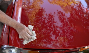 LUXURY AUTO WASH: $44 for $80 Groupon — Luxury Auto Wash