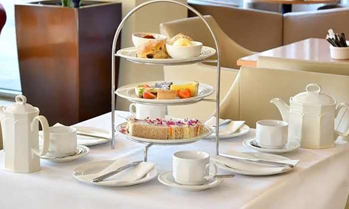 4* Afternoon Tea For Two or Four at The Court Bar Hilton Maidstone
