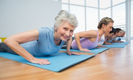 10 or 20 Yoga Classes at Triwood Community Association (73% Off)