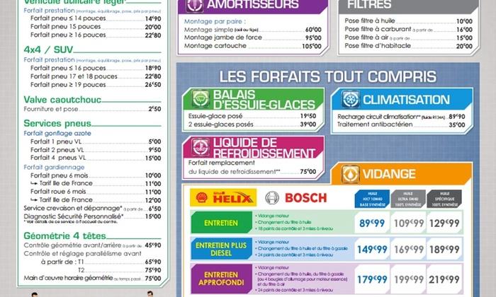euromaster bon d 39 achat de 40 eur euromaster si ge groupon. Black Bedroom Furniture Sets. Home Design Ideas