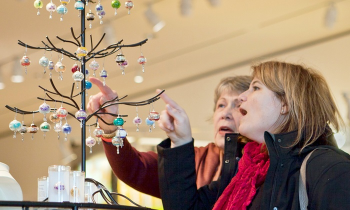 Madison Museum of Contemporary Art - Capitol: Holiday Art Fair Admission for Two, Four, or Six at MMoCA and The Overture Center (50% Off)