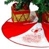 """40"""" Christmas Greetings Tree Skirts"""