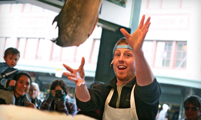 Savor Seattle - Pike Place Market Entrance: Pike Place Market Food Tour for One or Two from Savor Seattle (51% Off)