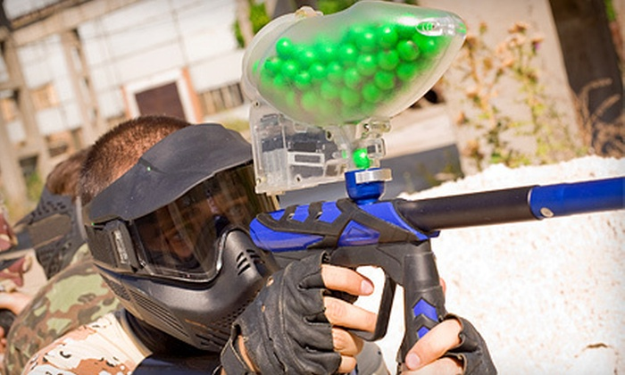 Dosser Works Paintball - Atlanta: All-Day Paintball with Rental Gear for 1, 2, or 10 at Dosser Works Paintball (Up to 65% Off)