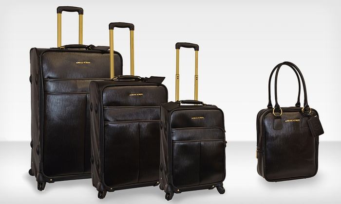 4-Piece Adrienne Vittadini Luggage Sets: $249.99 for a 4-Piece Adrienne Vittadini Luggage Set ($1,320 List Price). Multiple Designs. Free Shipping and Returns.