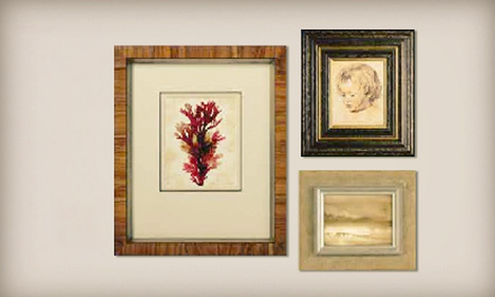 Framing & Art Centre - Orchard Plaza: $45 for $100 Toward Custom Framing at Framing & Art Centre