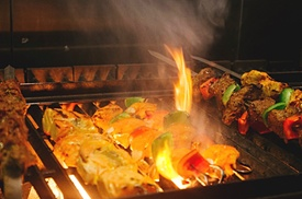Flamin Mangal: Two-Course Meal for Two or Four at Flamin Mangal (Up to 47% Off)