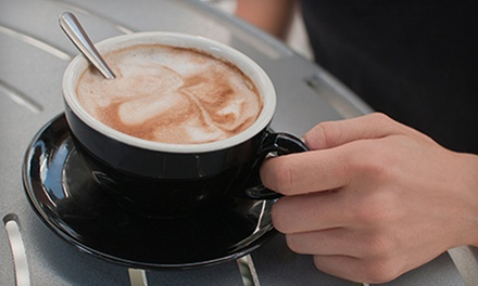 $11 for a Five-Drink Punchcard for Coffee, Tea, and Lattes at The Daily Grind (Up to 56% Off)