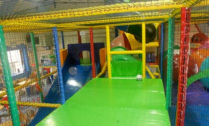 image for Soft Play Entry with Slush Puppie and a Hot Drink for Two, Three or Four Children at Tower of Fun (Up to 65% Off)