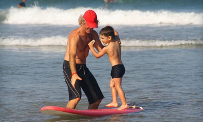 Surf Lessons Florida - Cocoa Isles: One, Two, or Three Private Surfing Lessons at Surf Lessons Florida (Up to 60% Off)