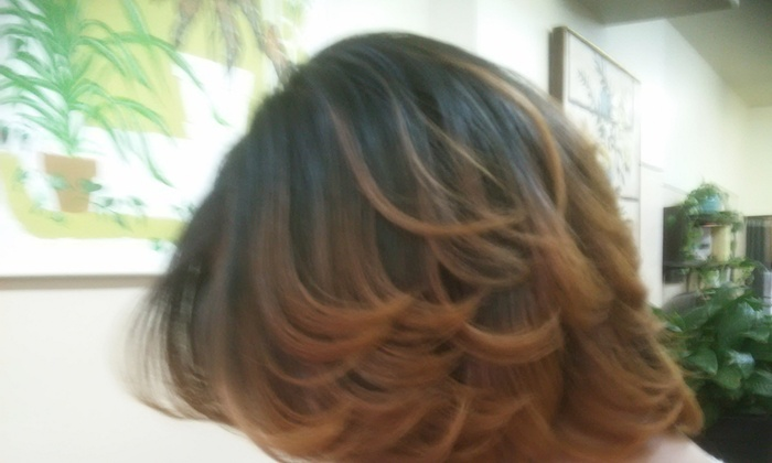 Renaissance Salon - Thonia Watson - Washington Square West: Up to 57% Off Hair Salon at Renaissance Salon - Thonia Watson