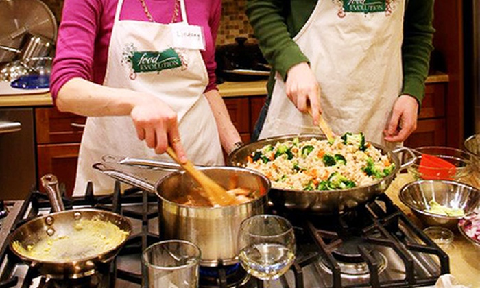The Food Evolution - Bardonia: Cooking Classes at The Food Evolution (Up to 54% Off). Three Options Available.