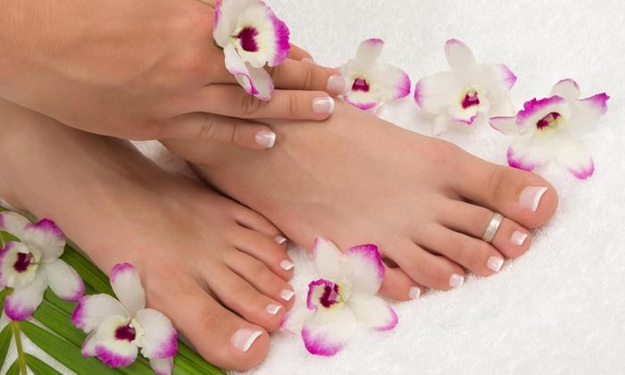 Elaine Beauty INC - Elaine Beauty INC: A Manicure and Pedicure from Elaine Beauty INC (49% Off)