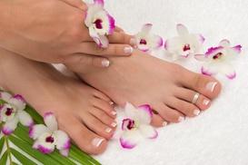 Elaine Beauty INC: A Manicure and Pedicure from Elaine Beauty INC (49% Off)
