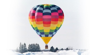 Montgolfiere Aventure: Private or Shared Hot Air Balloon Flight with Montgolfière Aventure around Montreal, Québec or Gatineau (Up to 43% Off)