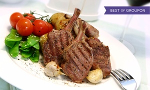 American Food At Keenan's Restaurant (50% Off). Two Options Available.