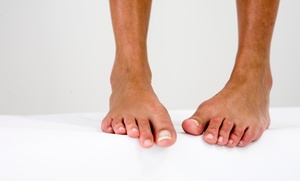 Laser Toenail-fungus Removal For One Or Both Feet At Eby Foot Care (up To 70% Off)