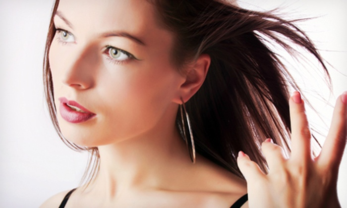 Utopia Salon and Day Spa - Downtown Elizabeth: Cut and Blowout with Choice of Extras at Utopia Salon and Day Spa (Up to 69% Off). Three Options Available.