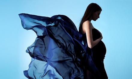 Sesión de fotos para embarazadas, bebés o niños con CD de fotos y 5 o 10 fotos impresas desde 29 €