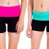 Cotton Cantina Fold-Over Juniors Shorts