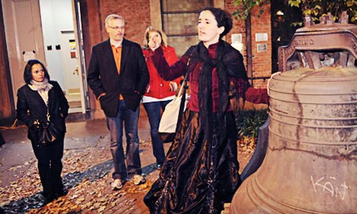 Ghosts of New York - New York City: $12 for a Ghost Tour from Ghosts of New York (Up to $25 Value)