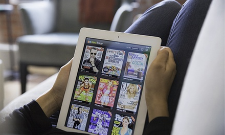 $14.99 for a 3-Month Unlimited Digital Subscription to Popular Magazines from Next Issue (Up to $44.97 Value)