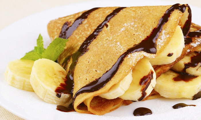 Urban Pastries - Noble West (Hazel Dell Crossing): $22 for Two Crepes, Two Soups, and Two Large Pastries at Urban Pastries ($33.32)