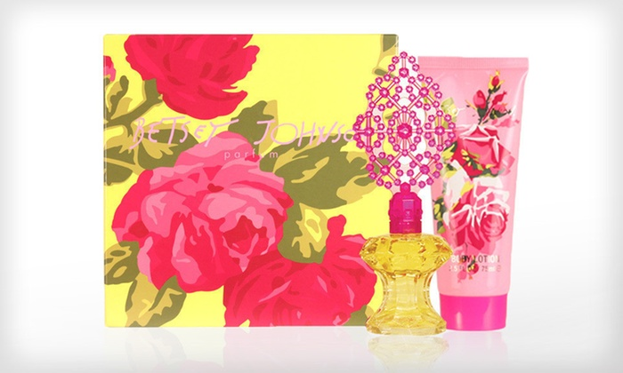 Betsey Johnson Fragrance Gift Set: $29.99 for a Betsey Johnson Women's Fragrance Gift Set with Eau de Parfum Spray and Lotion ($83 List Price)