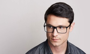 Trendsetter Eyewear: Exam with Credit Toward Prescription Glasses at Trendsetter Eyewear (Up to 75% Off)