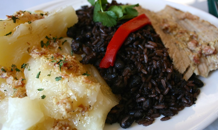 Andrés Restaurant - Bay Park: Cuban and Puerto Rican Food and Drinks at Andrés Restaurant (40% Off). Two Options Available.