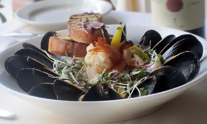 Grata Restaurant & Wine Bar - Midtown,Sutton Place,Turtle Bay: Mediterranean Cuisine and Wine for Two or Four at Grata Restaurant & Wine Bar (Up to 69% Off)