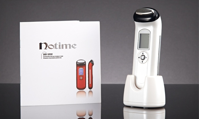 Notime Galvanic Ion Facial Massager and Wrinkle Reducer: $59.99 for a Notime Galvanic Ion Facial Massager and Wrinkle Reducer ($249.95 List Price). Free Shipping and Returns.
