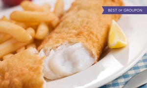 KingFish Restaurants: $12 for $20 Worth of Seafood at KingFish Restaurants