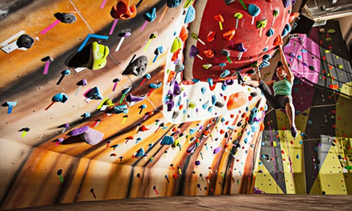 Climb So iLL - Near Lafayette Square: Day of Indoor Rock Climbing with Rental Gear for One, Two, or Four at Climb So iLL (Half Off)