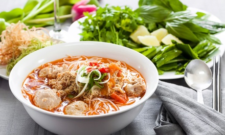 Vietnamese Food for Two or Four at Le Saigon (Up to 34% Off). Four Options Available.