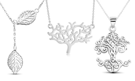 Sterling Silver Tree of Life Necklaces