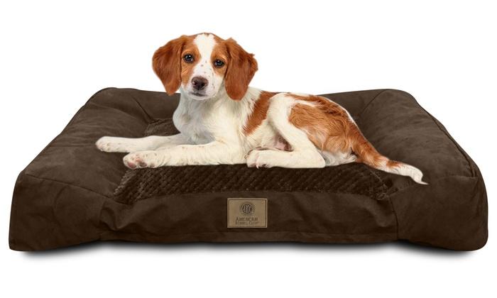 Groupon Memory Foam Dog Bed