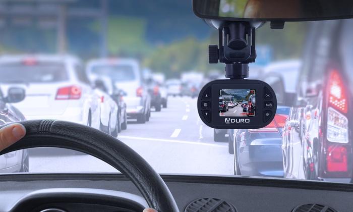 Aduro U-Drive Pro HD DVR Dash Cam with Night Vision