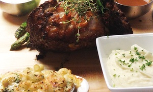 Bobby Van's Grill: $155 for a Prime Rib Dinner for Four at Bobby Van's Grill (Up to $224 Value)